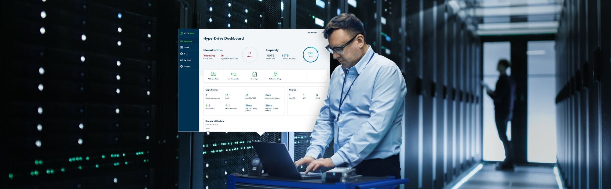 Image for SoftIron Redefining Ceph Ease-of-Use and Performance During  DCD Tech Showcase Series