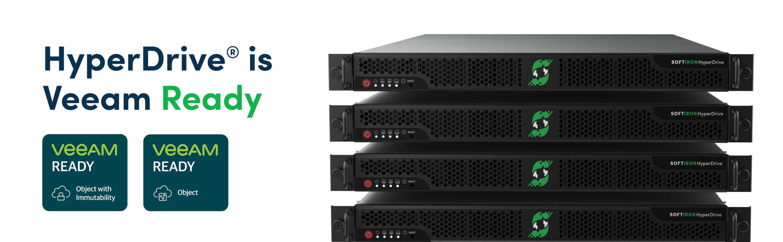 Image for SoftIron's Open Source-Based HyperDrive Storage Solution Verified Veeam Ready